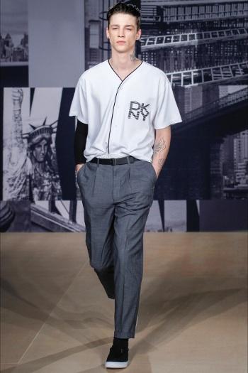 La Collezione uomo SS 2015 DKNY alla London Collection Men