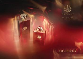 La coppia di fragranze Amouage Journey Woman e Man