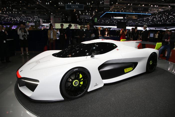 La Pininfarina H2 Speed Concept supercar ecologica a idrogeno al Salone di Ginevra 2016