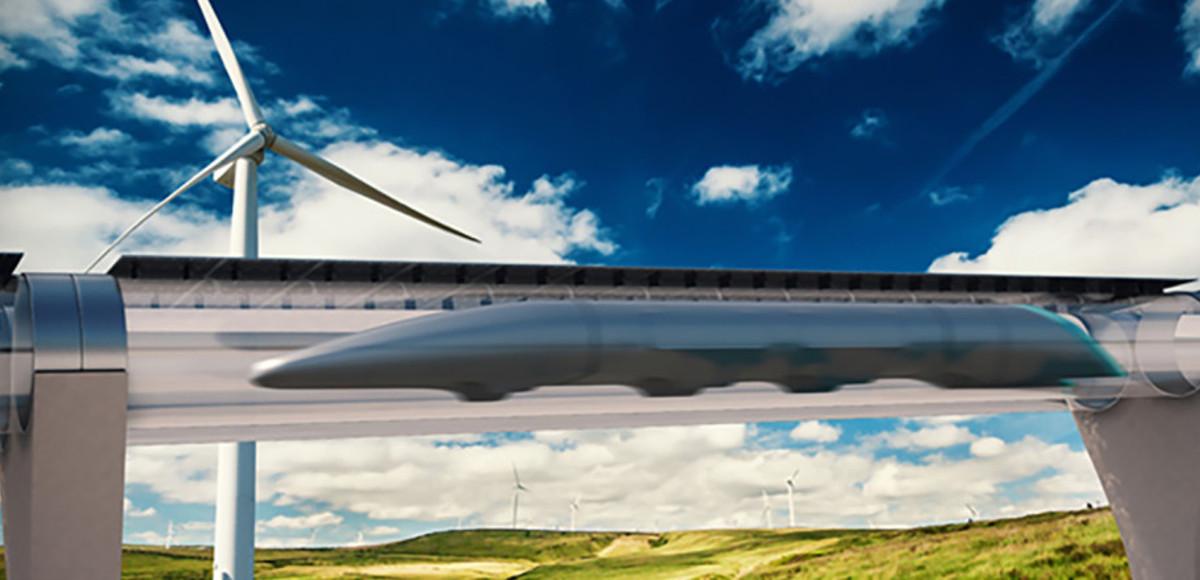 Il progetto Hyperloop per il treno del futuro