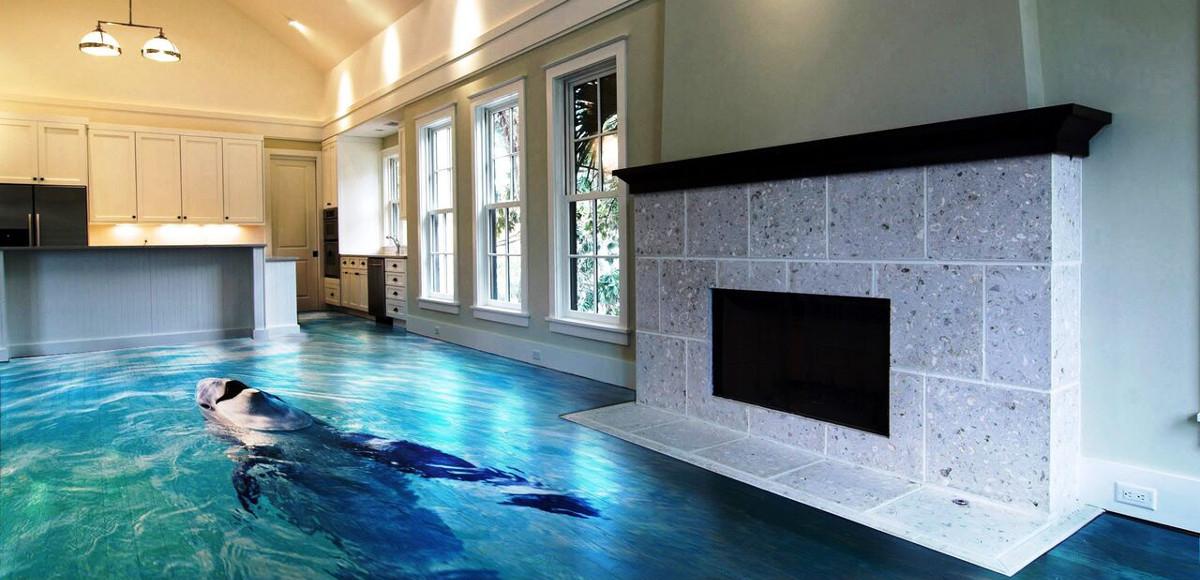 Pavimenti in Resina effetto 3D: nuova tendenza intenrior design