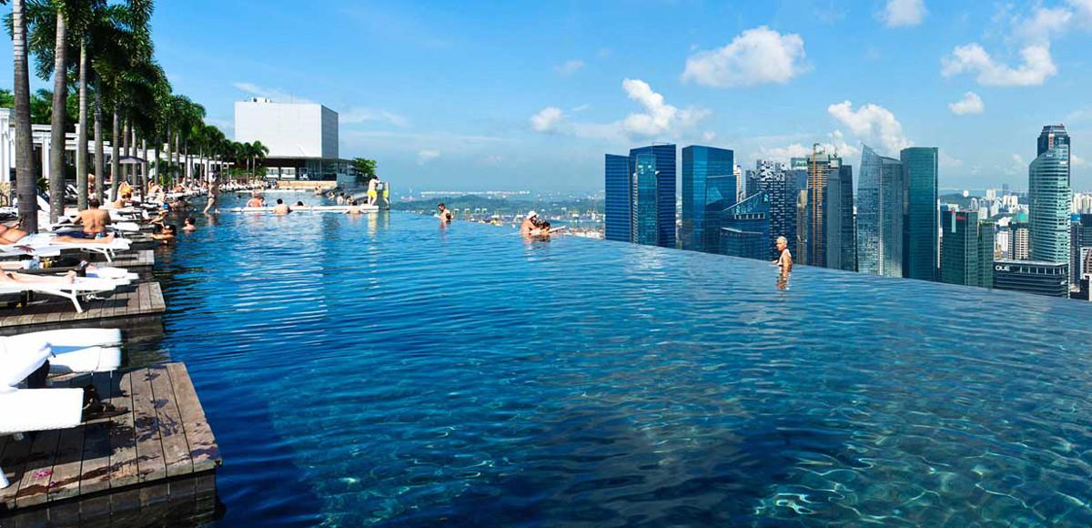 Piscine più belle del mondo : ool Marina Bay Singapore