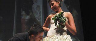 Abito da Sposa commestibile