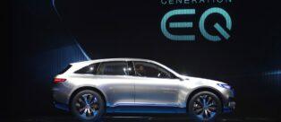 Mercedes-Benz EQ Conceptal Salone di Parigi 2016