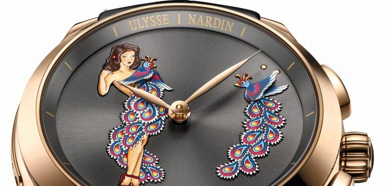 L'orologio con funzione ripetizione ore ulysse nardin hourstriker pin-up