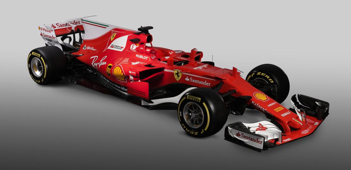 Presentata la nuova Ferrari di Formula1 Ferrari SF70H
