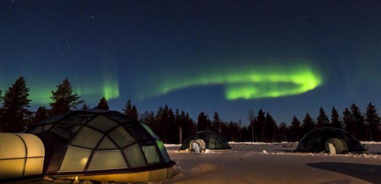 Hotel Kakslauttanen In Lapponia finlandese