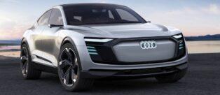 Debutto per l'Audi e-tron Sportback concept al Salone di Shanghai 2017