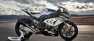 La nuova moto da corsa BMW HP4 RACE