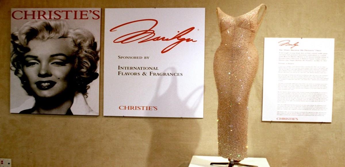 """Il vestito di Marilyn Monroe venduto all'asta: """"happy birthday"""""""