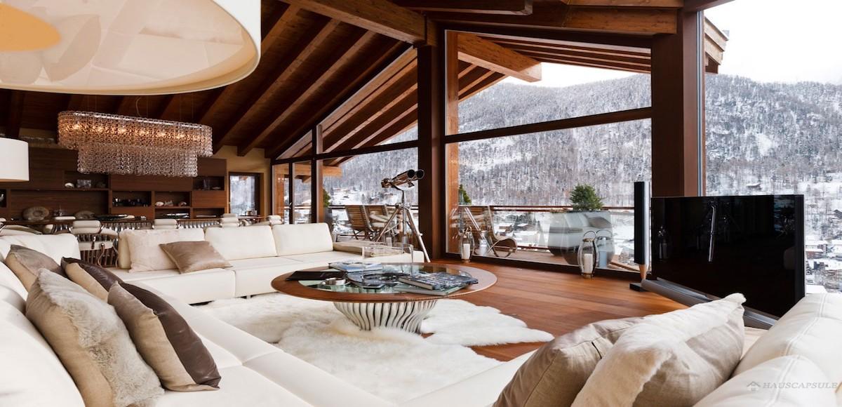 Baite di lusso in montagna