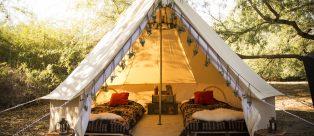 Il nuovo modo di campeggiare: Glamping