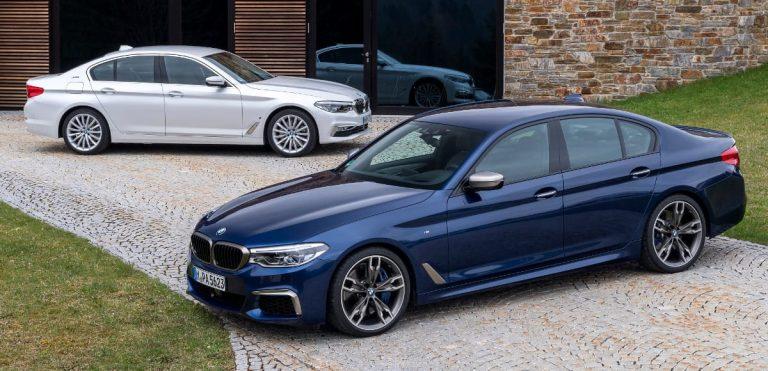 la nuova vettura ibrida plug-in BMW 530e iPerformance