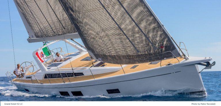 La nuova barca a vela Grand Soleil GS52 LC dei Cantieri del Pardo