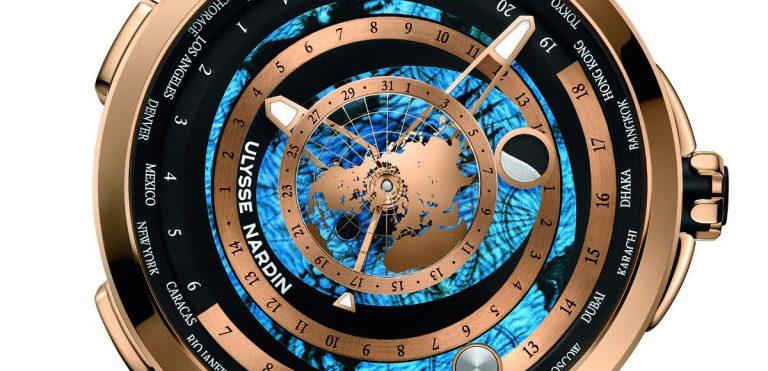 il nuovo segnatempo Ulysse Nardin Executive Moonstruck Worldtimer