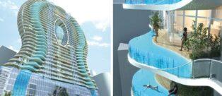 Bandra Ohm: a Mumbai la torre ispirata all'acqua