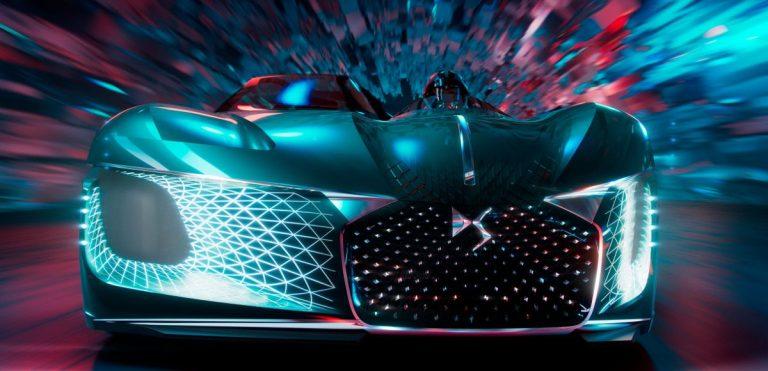 DS X E-Tense Concept al Salone dell'Auto di Pechino 2018: l'auto del futuro?