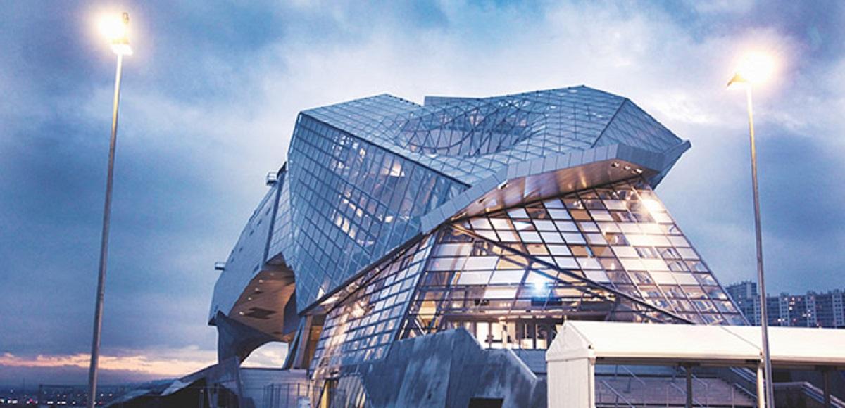 Museo delle Confluenze Lione: la nuvola astratta di sapere scientifico