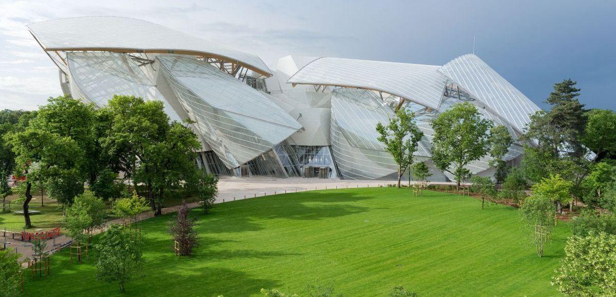 Il Museo d'Arte moderna Fondation Louis Vuitton a Parigi