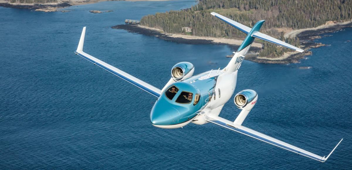 Debutto al Salone Aereo EBACE per nuovo business jet Hondajet Elite