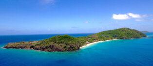 Kokomo Private Island vista dall'alto