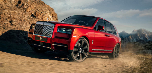 Il SUV più costoso del mondo, la Rolls-Royce Cullinan