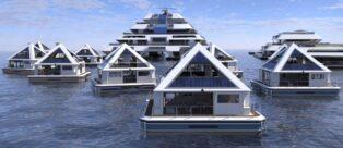 Wayaland città galleggiante del futuro
