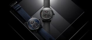 Le due versioni in edizione limitata dell'orologio Jaquet Droz Grande Seconde Power Reserve Ceramic Clous de Paris