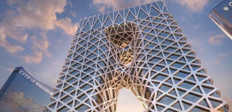 La struttura innovativa del Morpheus Hotel Macao