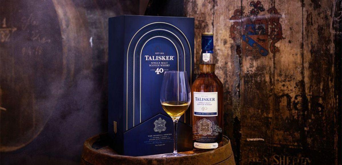 Whisky Talisker Bodega 40 YO