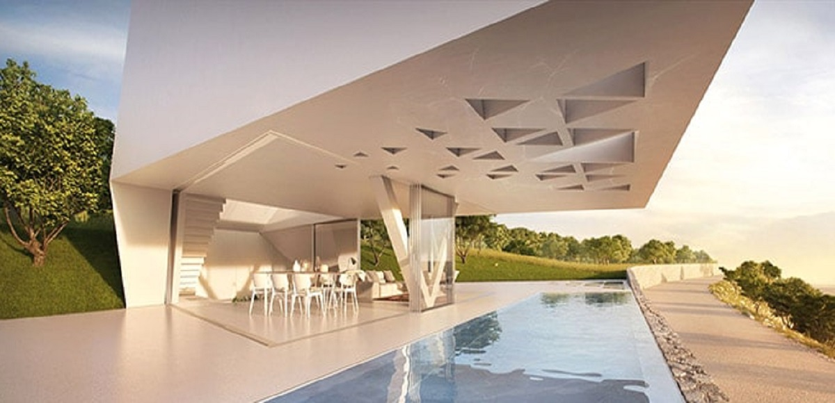 Villa F Rodi: in Grecia un design innovativo