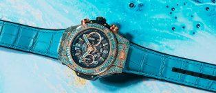Big Bang Hublot L'orologio impreziosito da una Tormalina Paraìba