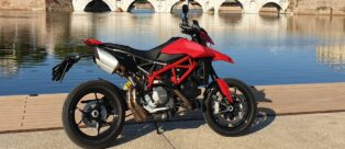 Ducati Hypermotard 950 Il test drive di TopLook da Nivola Style Rimini