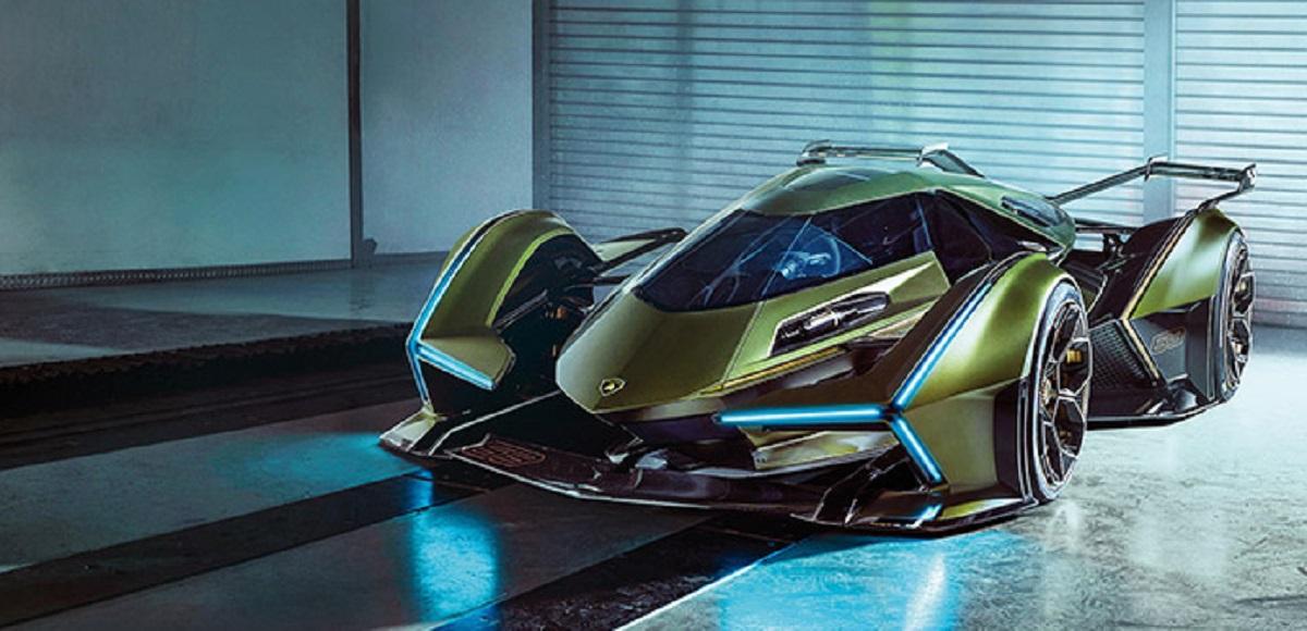 Lamborghini V12 Vision Gran Turismo L'hypercar ibrida virtuale