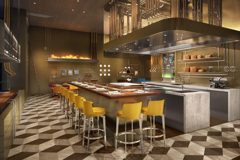 la maison di Haute CoutureLouis Vuitton cattura l'attenzione del pubblico con l'inaugurazione di Café V Louis Vuitton Osaka