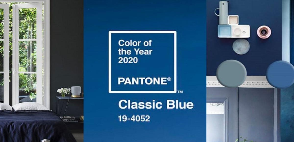 Classic Blue: il colore protagonista del 2020. Tendenze e Design
