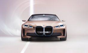 BMW i4 Concept 2020 La sportiva elettrica da 600 km. di autonomia