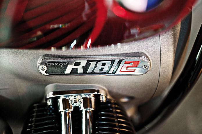 Bmw Concept R18/2 L'anima più moderna del boxerone cruiser