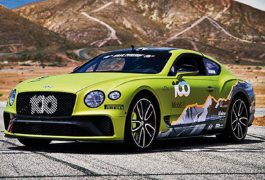 Bentley Continental GT Pikes Peak Limited Edition Una belva in soli 15 esemplari