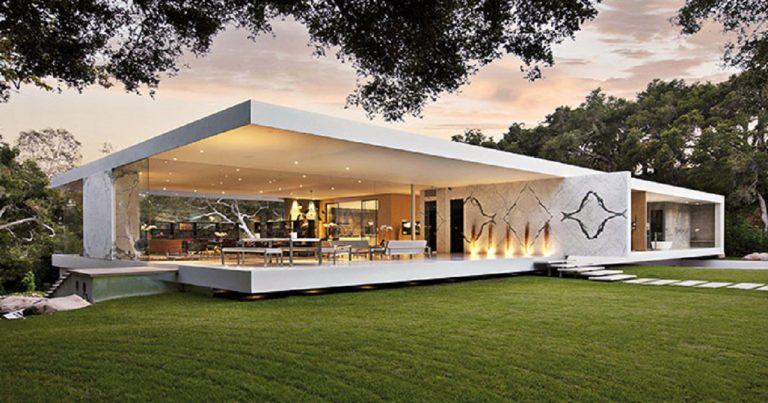 The Glass Pavilion Los Angeles La casa di vetro di Steve Hermann