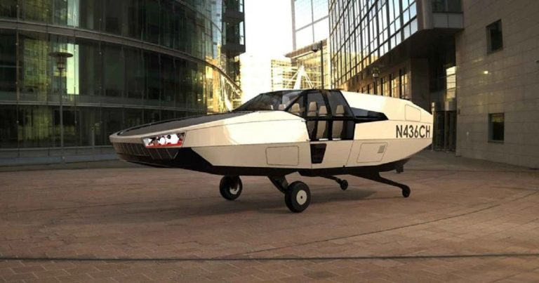 CityHawk, distinguersi in volo: il taxi volante alimentato a idrogeno
