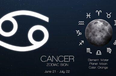 Classifica zodiacale Estate 2021 Cancro