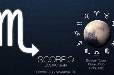 Classifica zodiacale Estate 2021 Scorpione