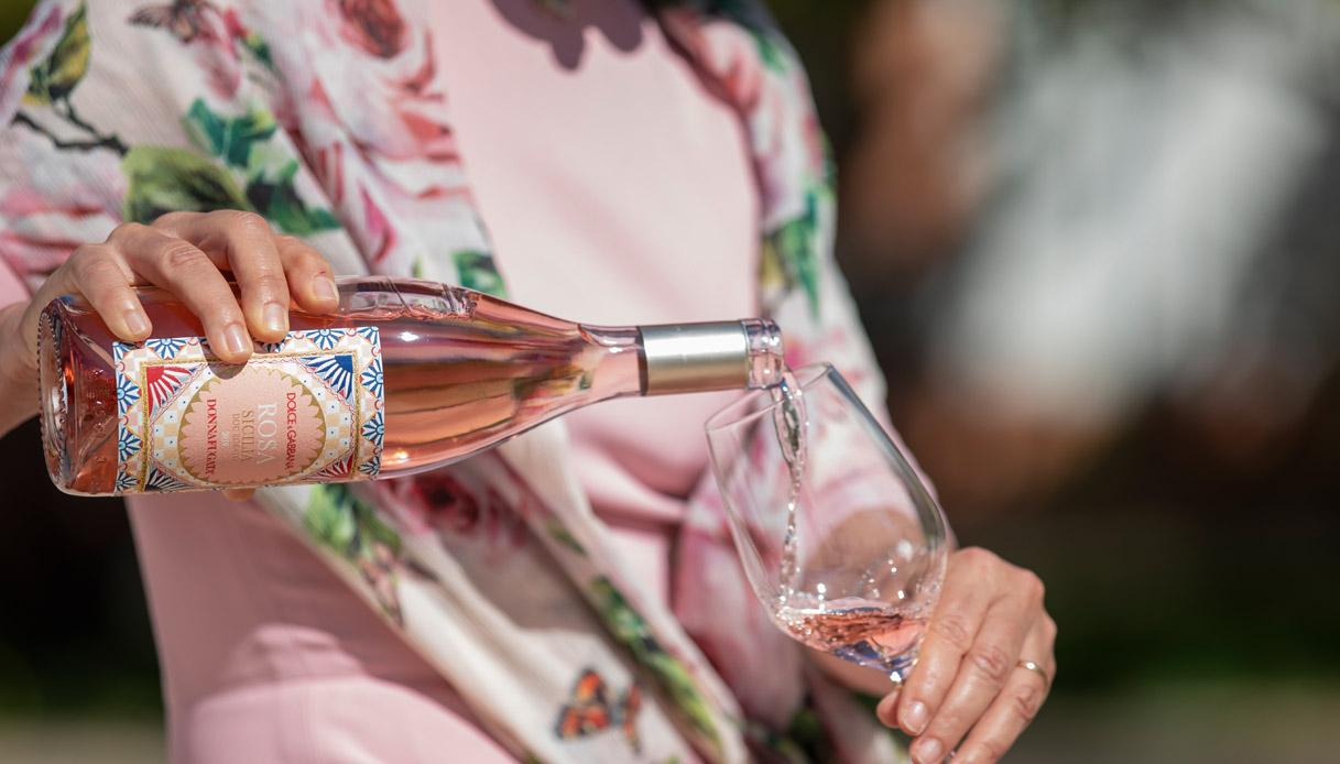 Vino Rosa Dolce&Gabbana: si riparte dall'Italia