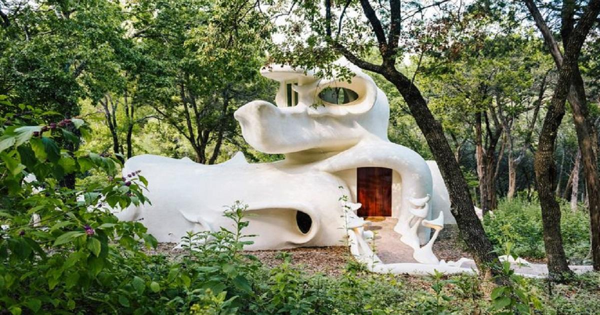 Bloomhouse, Texas La casa magica in mezzo al bosco tanto amata dagli Hippie