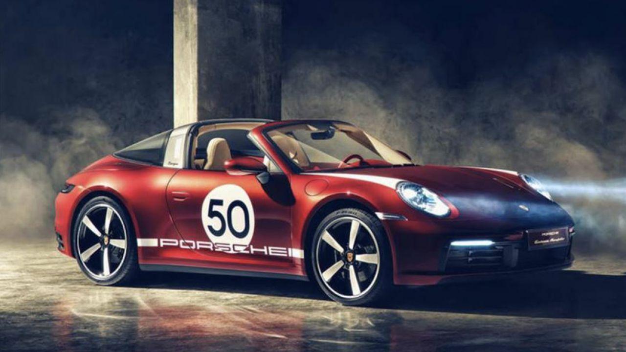 Porsche 911 Targa 4S Heritage Design Edition: la nuova supercar