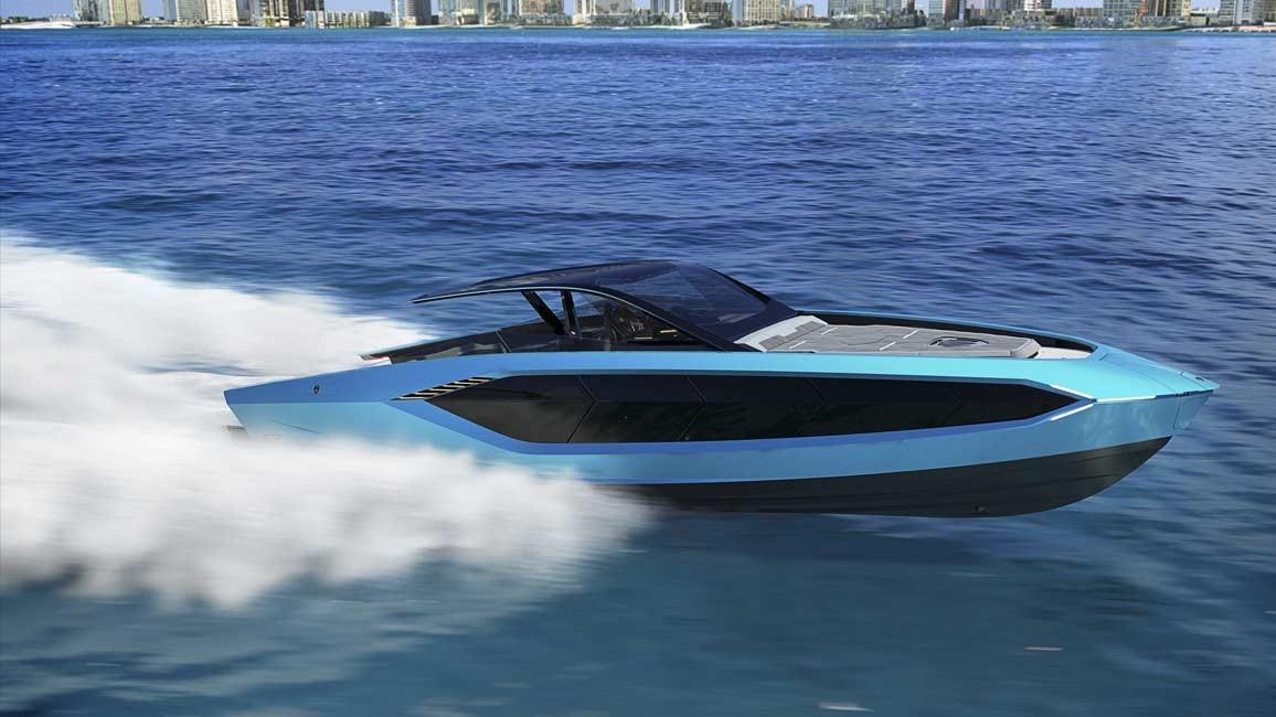 Yacht Tecnomar for Lamborghini 63: la novità della Casa del Toro