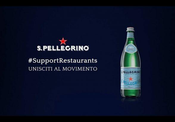 S.Pellegrino Support Restaurants: l'iniziativa solidale a sostegno del food