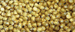 Bacio Perugina Gold: latte e caramello in edizione limitata