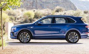 Bentley Bentayga Speed facelift Nuovo stile, maggiori prestazioni